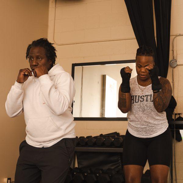 Natasha and Coach emile